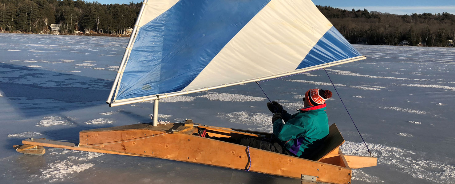 Ice Boating in New Hampshire